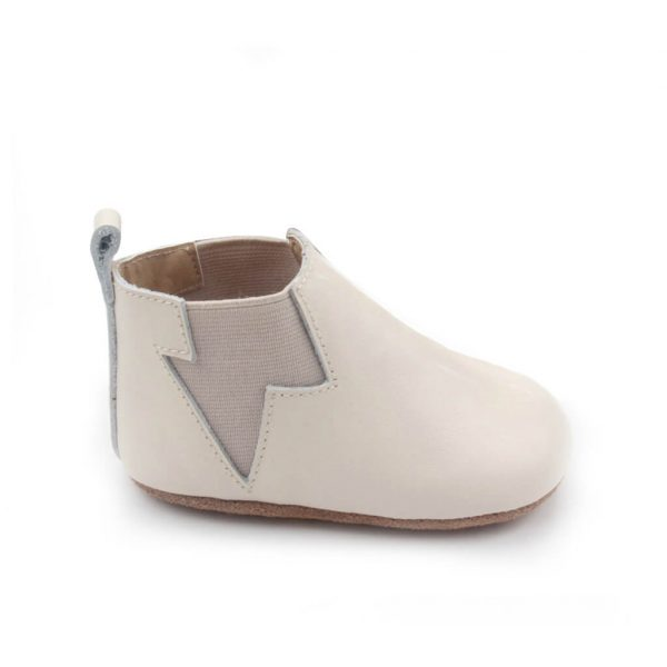 Pretty Brave Electric Baby Boot – Oatmeal side