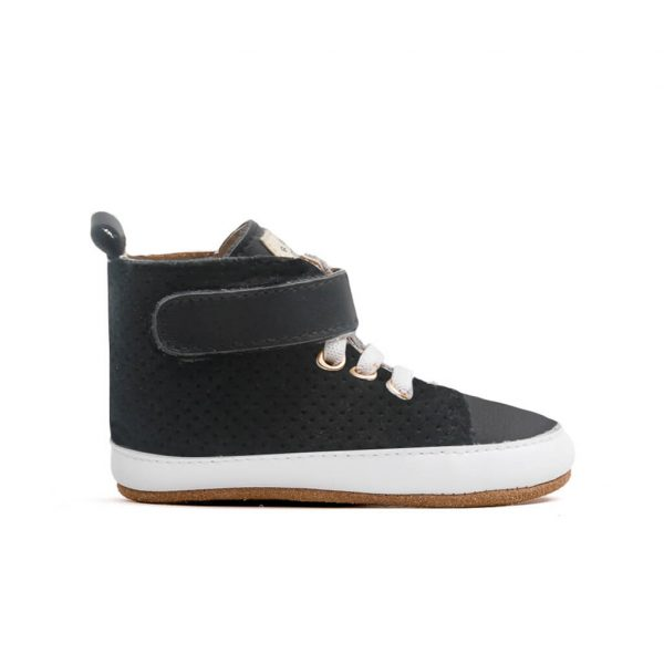 Pretty Brave Hi-Top Boot – Jet Black side