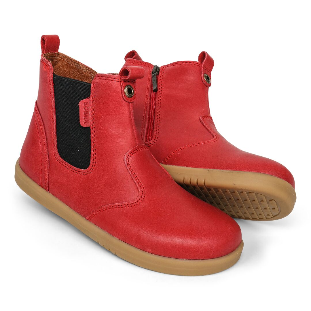 Red kids bobux shoes for kids | Camino kIds AU