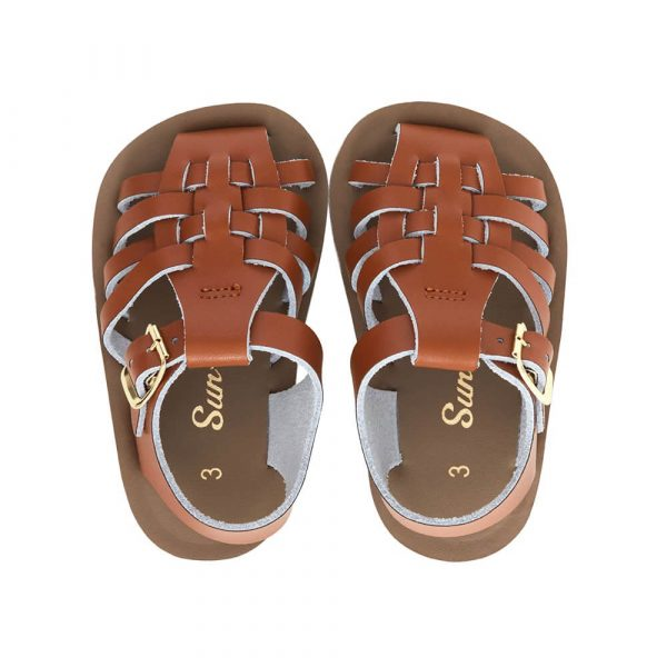 Sun San Sailor Sandals – Tan Top