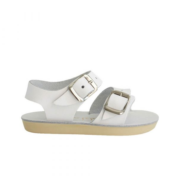Sun-San Sea Wee Sandals – White Side