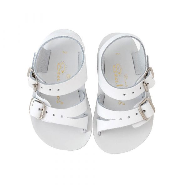 Sun-San Sea Wee Sandals – White Top