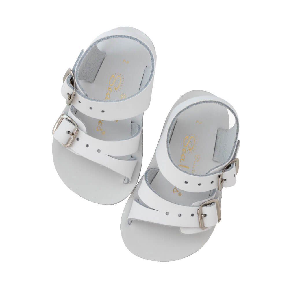Sun-San Sea Wee Sandals – White Top Angle