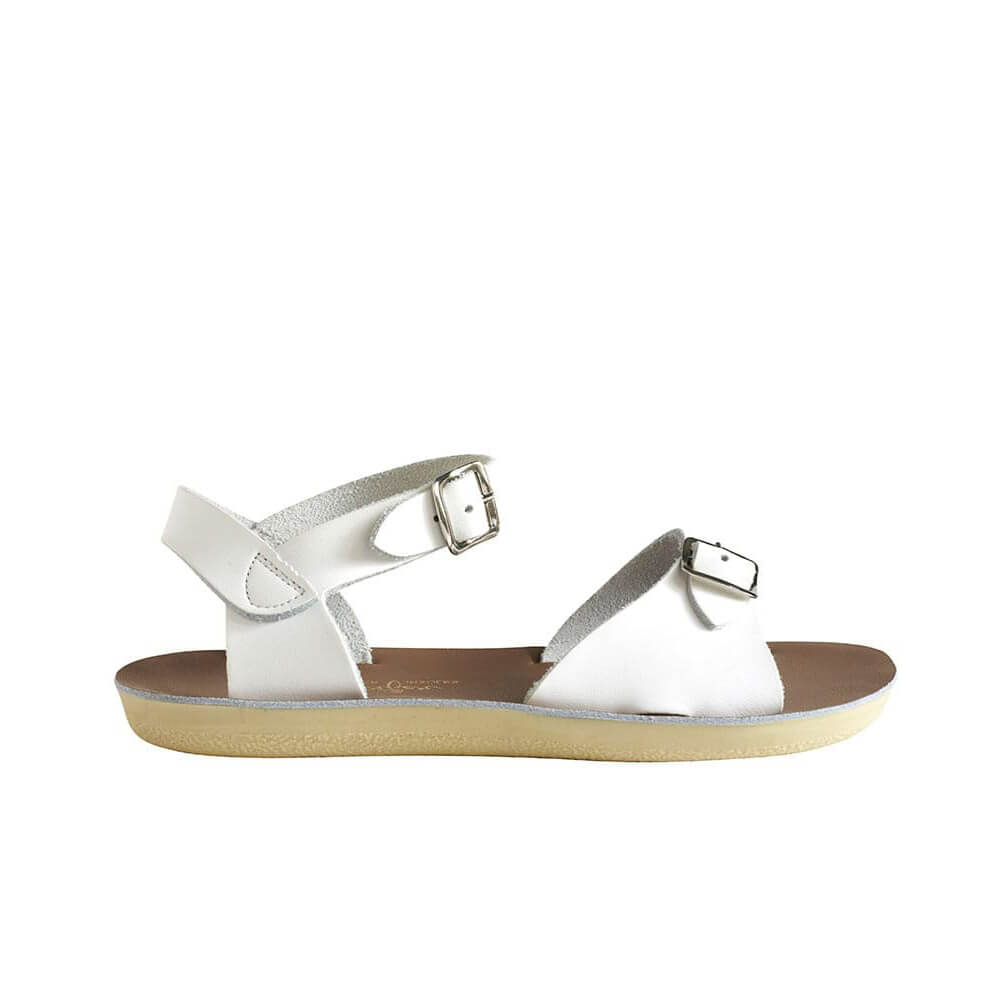 Sun-San Surfer Sandals – White Side