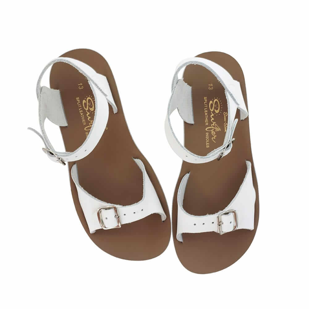 Sun-San Surfer Sandals – White Top Angle