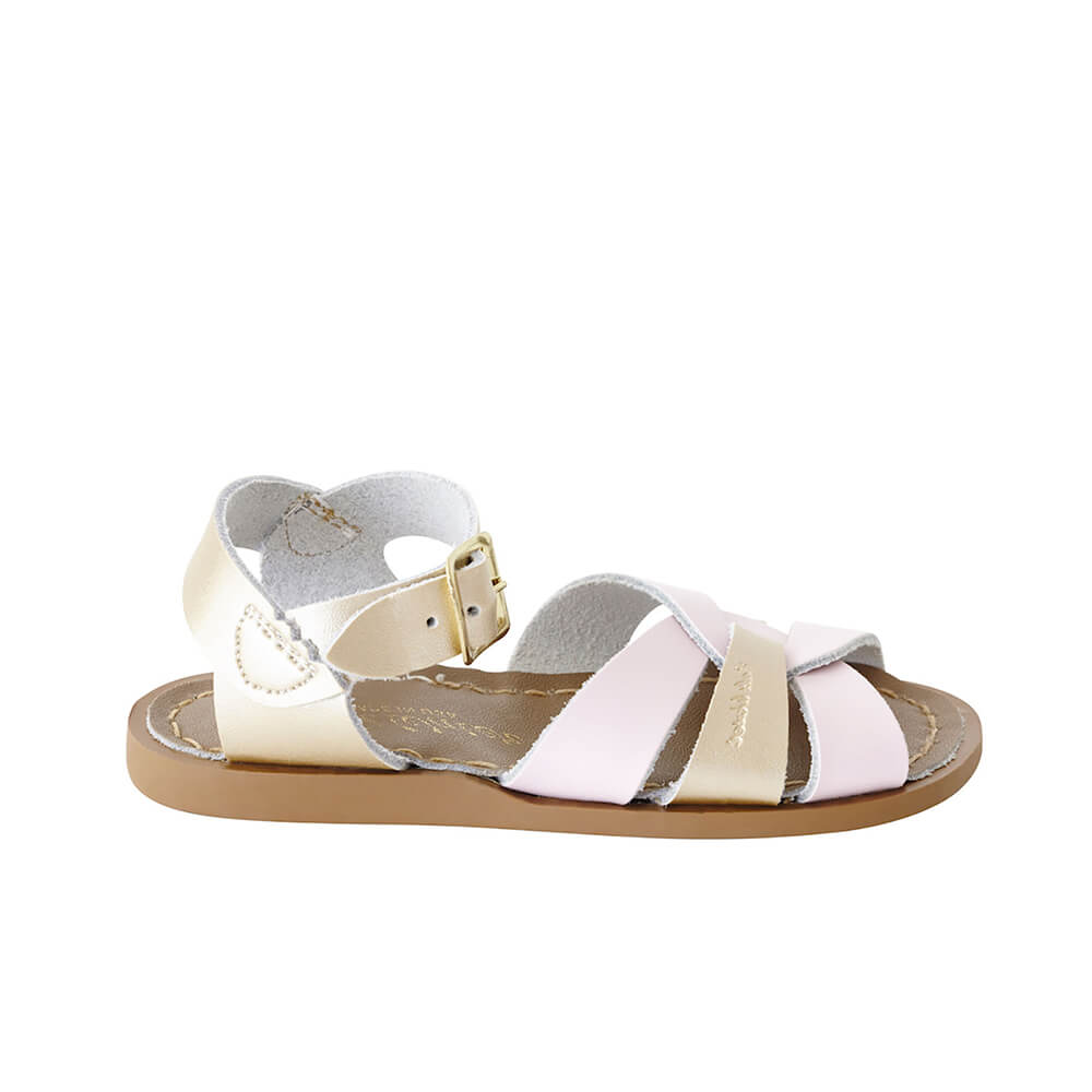 Original Sandals – Pink/Gold Mashup Side
