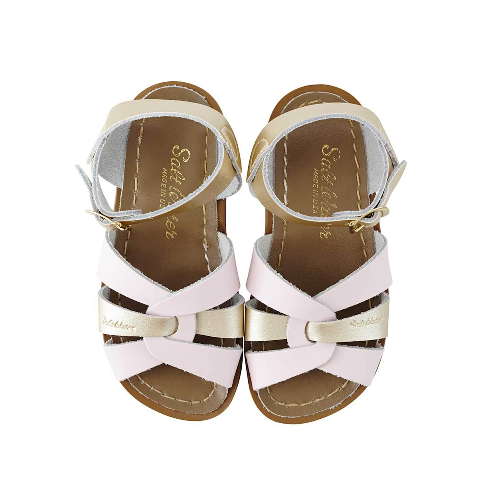 Original Sandals – Pink/Gold Mashup Top