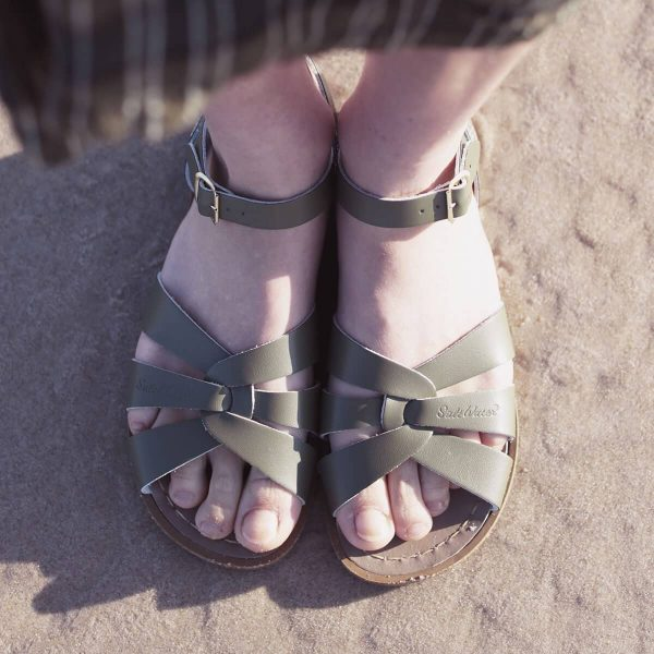 Saltwater Sandals Original - Olive Green (Baby, Kids & Youth)