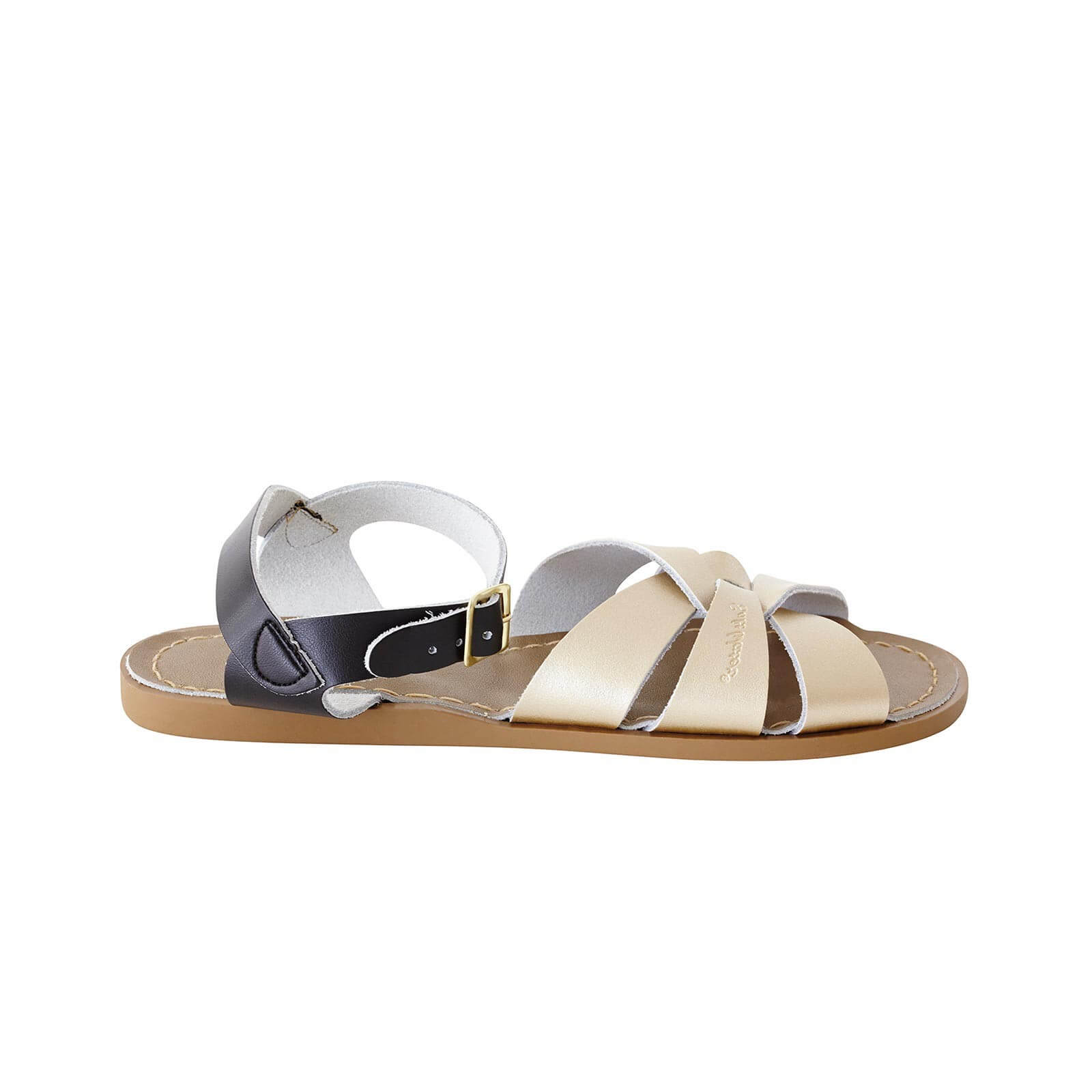 Original Sandals – Black/Gold Mashup side