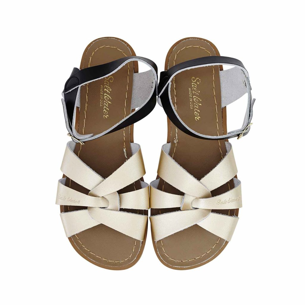 Original Sandals – Black/Gold Mashup top