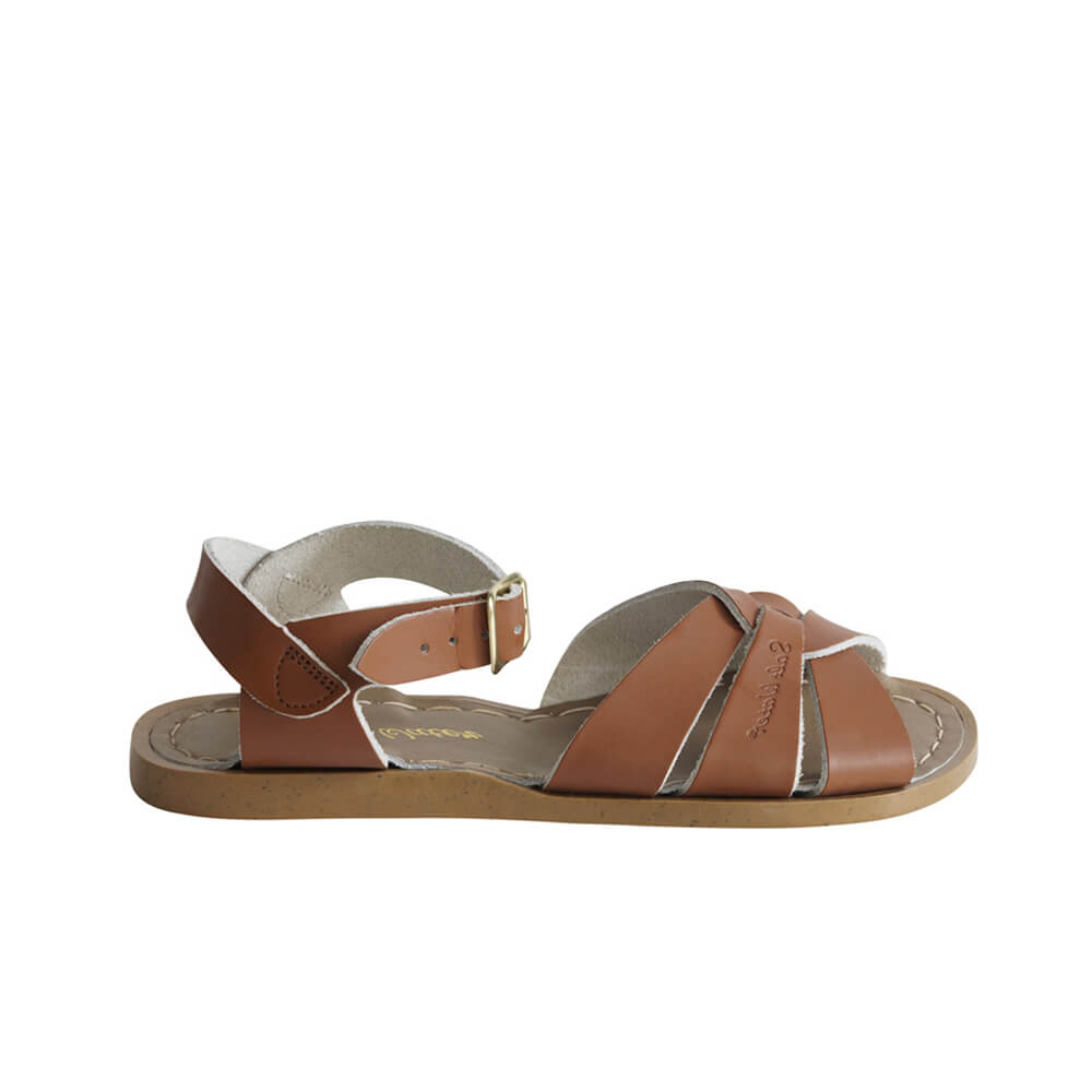 Saltwater Original Sandals – Tan Side
