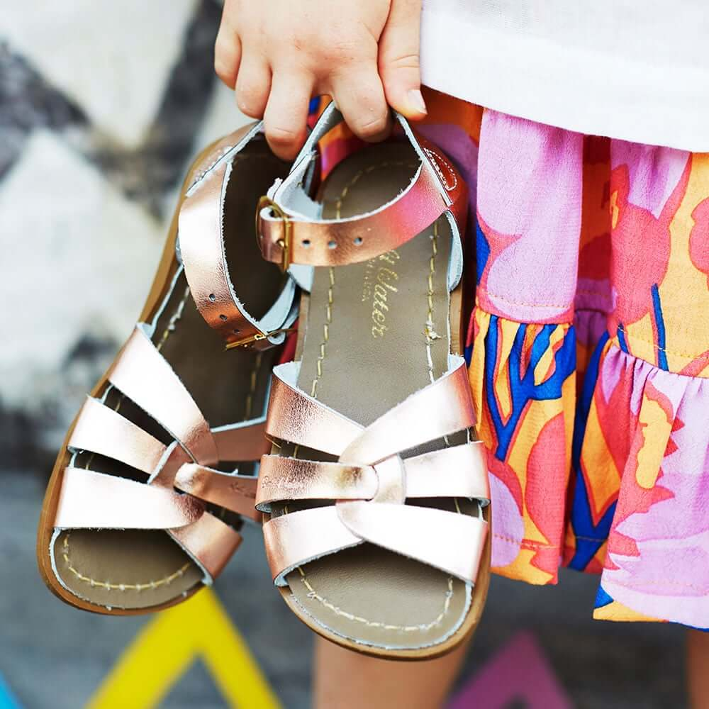Original Sandals – Rose Gold Lifestyle 2