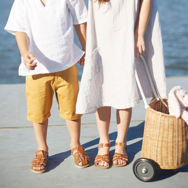 Sun San Sailor Sandals – Tan Lifestyle 5