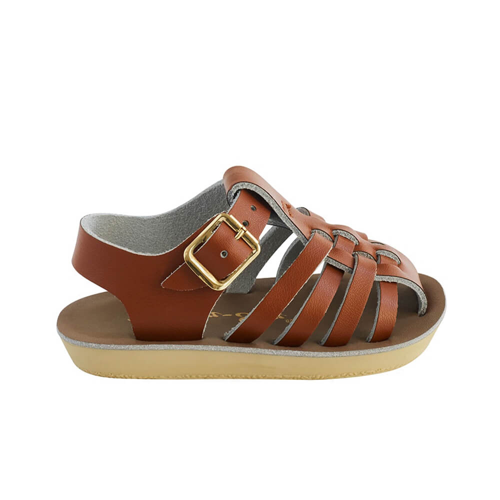 Sun San Sailor Sandals – Tan Side
