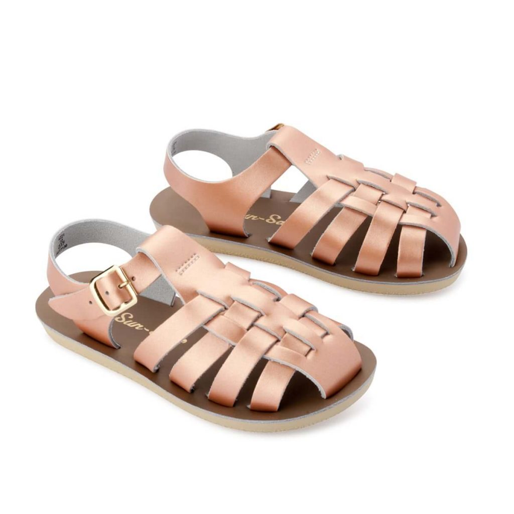 Saltwater Sandals Sun San Sailor Rose Gold