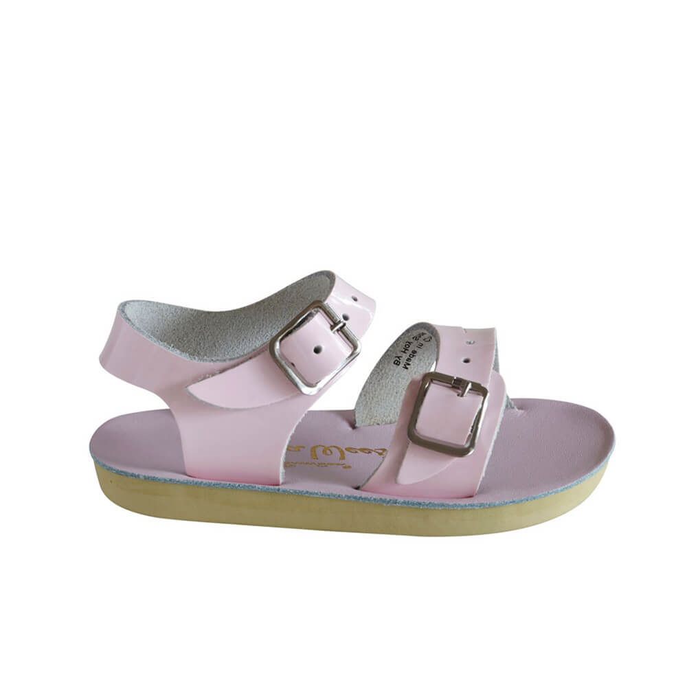 Sun-San Sea Wee Sandals – Shiny Pink Side