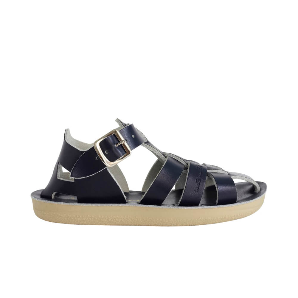 Sun-San Shark Sandals – Navy Side