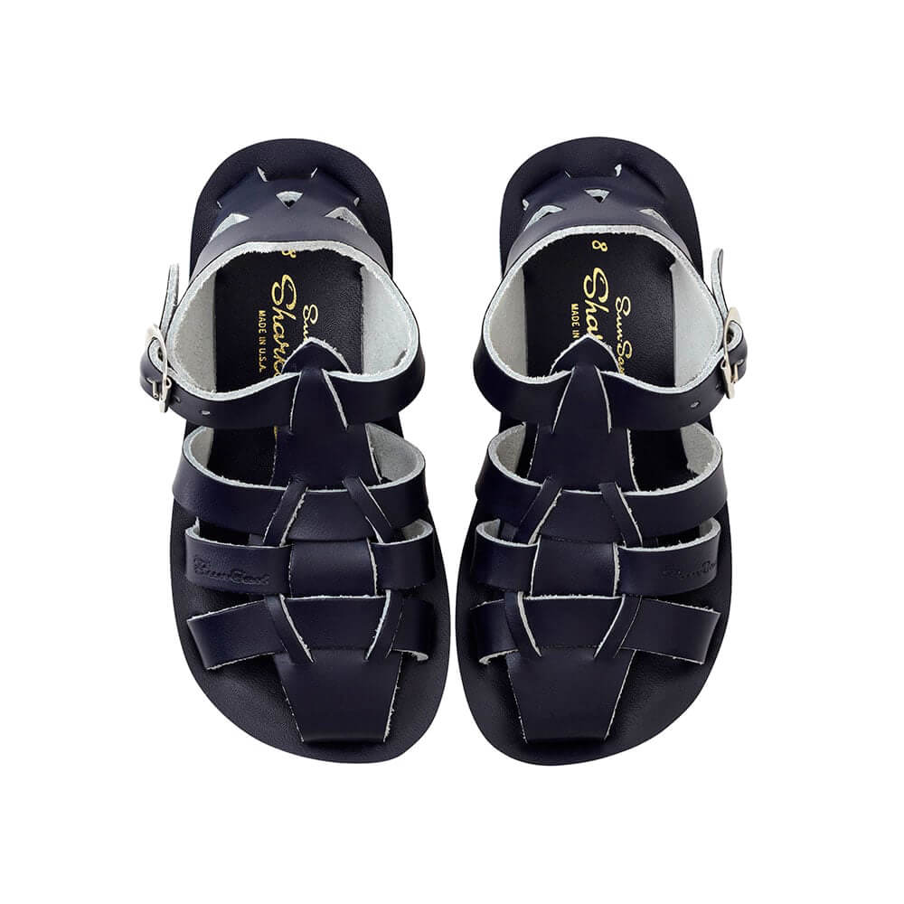 Sun-San Shark Sandals – Navy Top