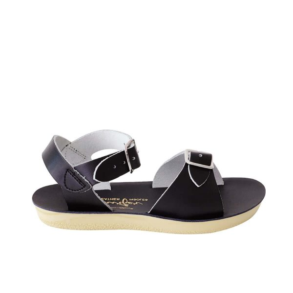Saltwater Sandals Sun San Surfer Black