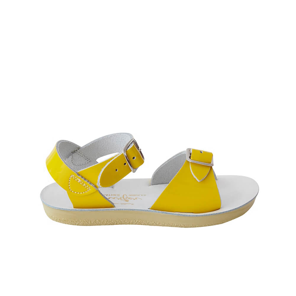 Sun-San Surfer Sandals – Yellow Side