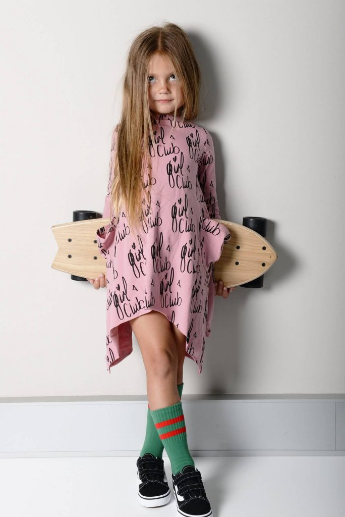 Sunday Soldiers Girls Club Long Sleeve Dress - Lifestyle
