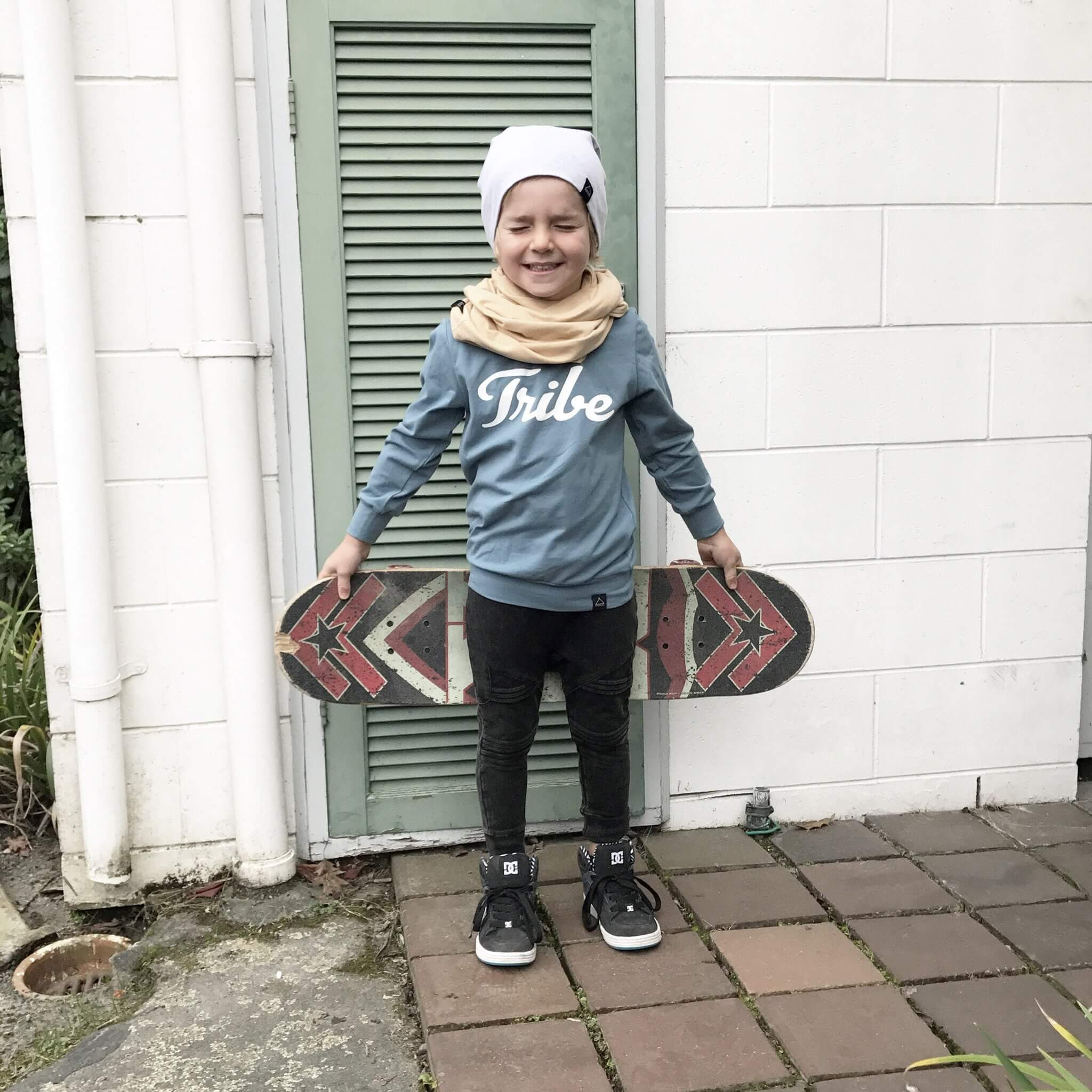 Sunday Soldiers Grey Marle Beanie