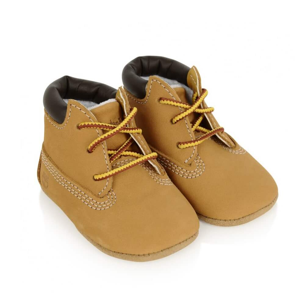 Timberland Baby Crib Bootie with Beanie -