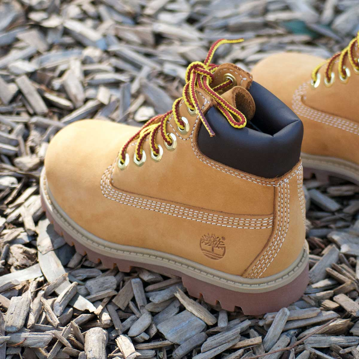 Timberland Kids Toddler 6-Inch Premium Boot (Wheat Nubuck)