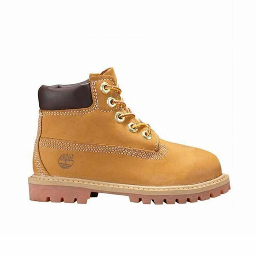 Timberland Kids Toddler 6 Inch Premium Boot Side