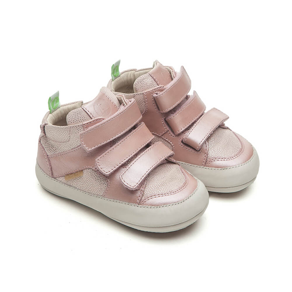 Tip Toey Joey Metropoly Baby Boot – Pink Dream & Stars side