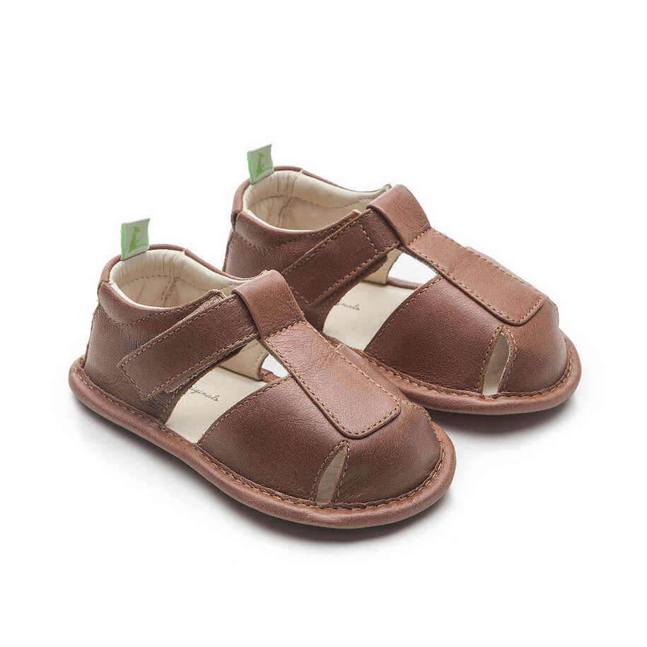 Tip Toey Joey Parky Sandal - Whisky side