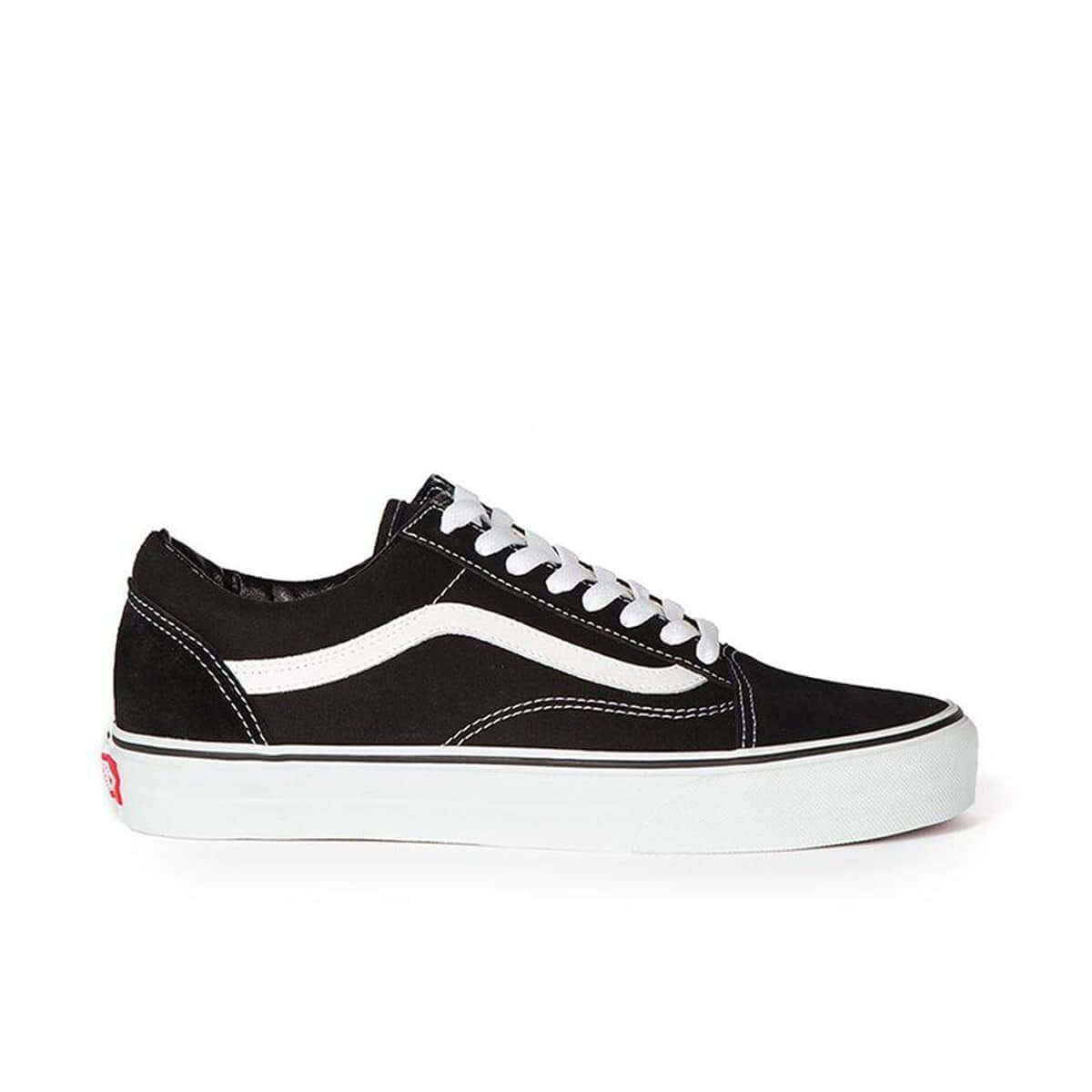 van kids old skool black side