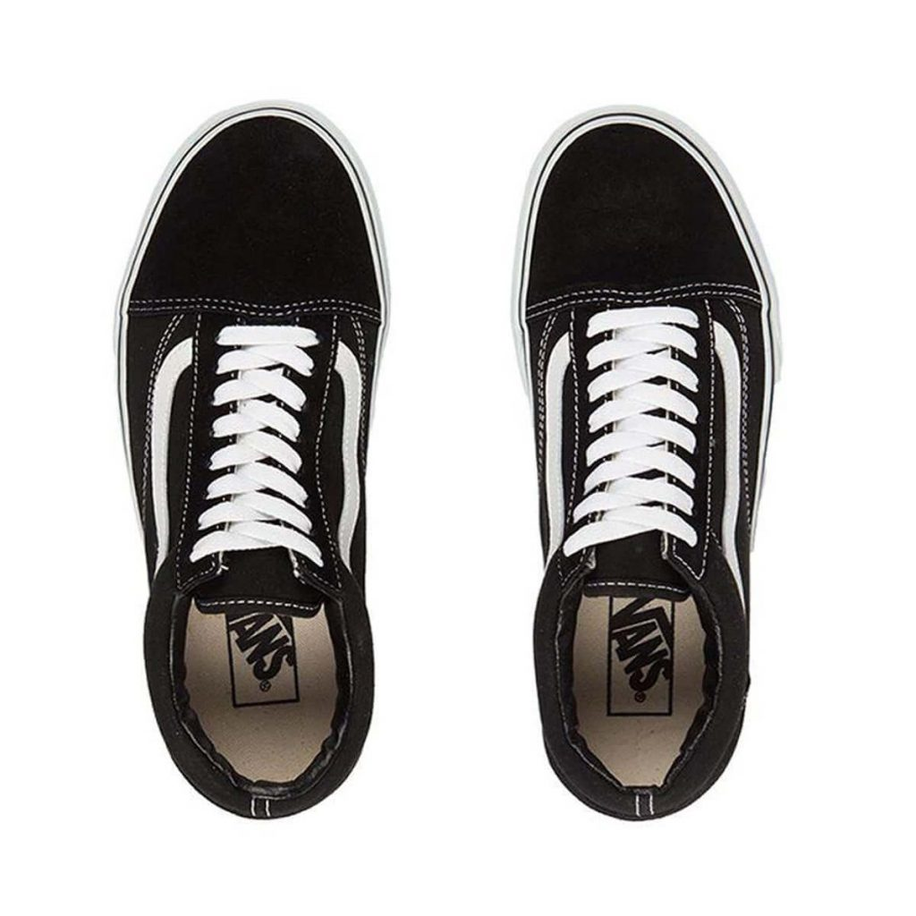 van kids old skool black top two