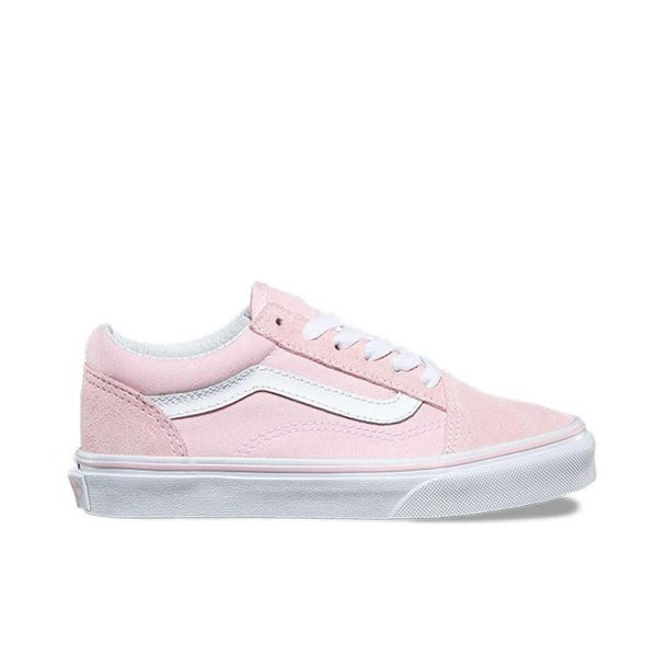 van kids old skool pink side