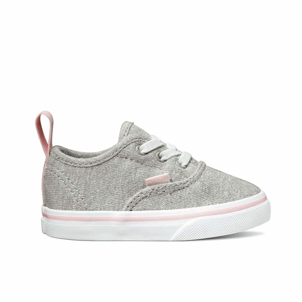 f22f00595995d1 Vans Authentic Shimmer Jersey Sneaker – Grey - Camino Kids