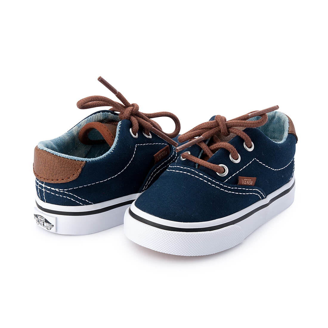 Vans Era 59 Kids Sneaker – Navy angle pair