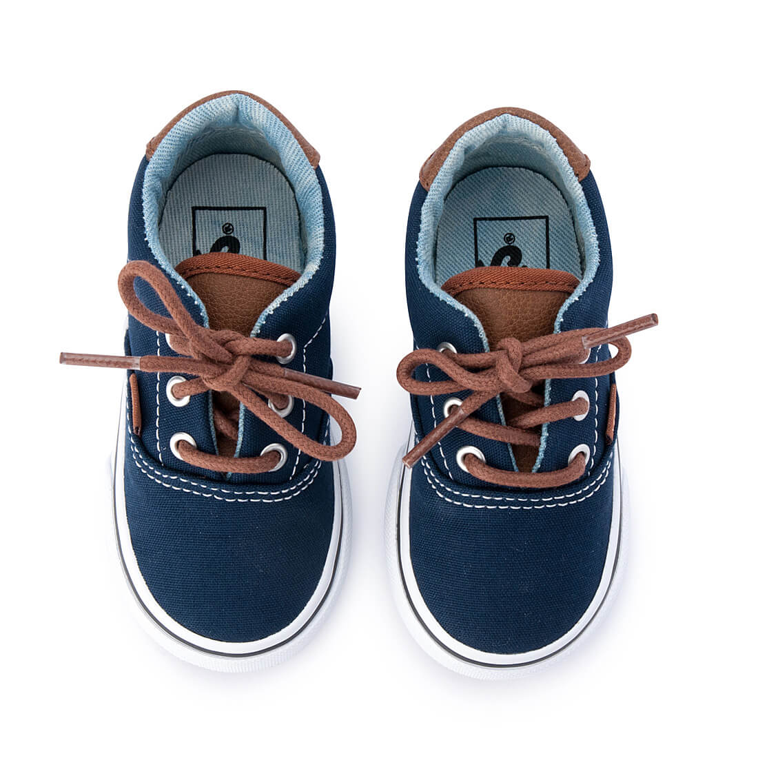Vans Era 59 Kids Sneaker – Navy top pair