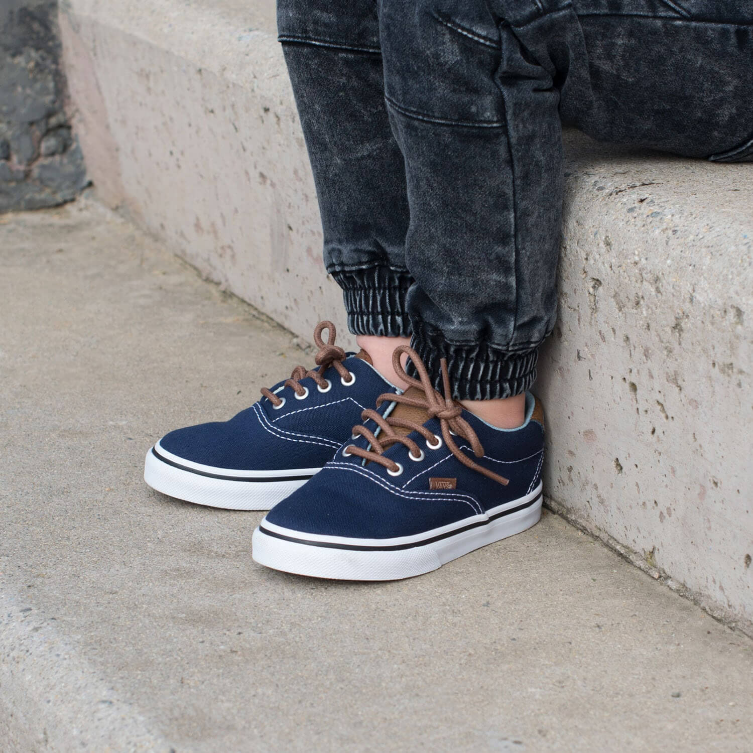 Vans Era 59 Kids Sneaker – Navy Lifestyle 3