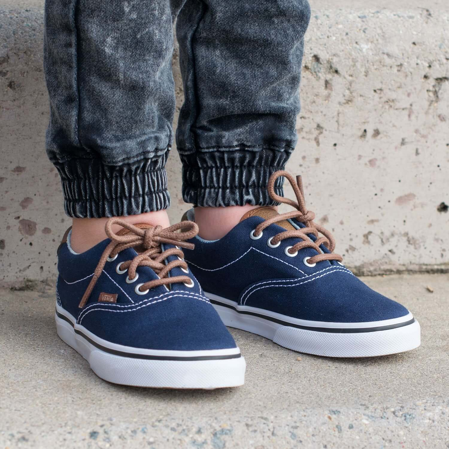 Vans Era 59 Kids Sneaker – Navy Lifestyle 4