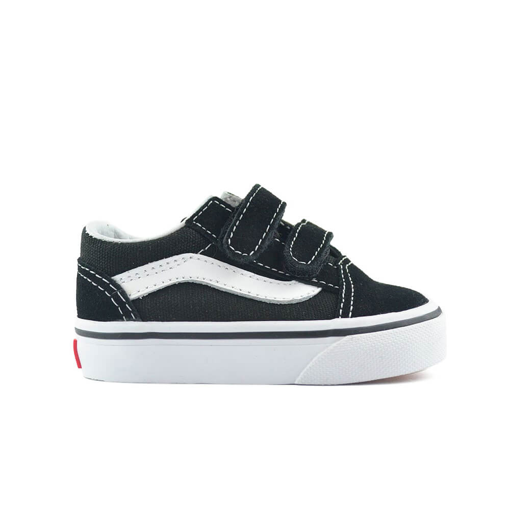 vans kids old skool v sneaker black side