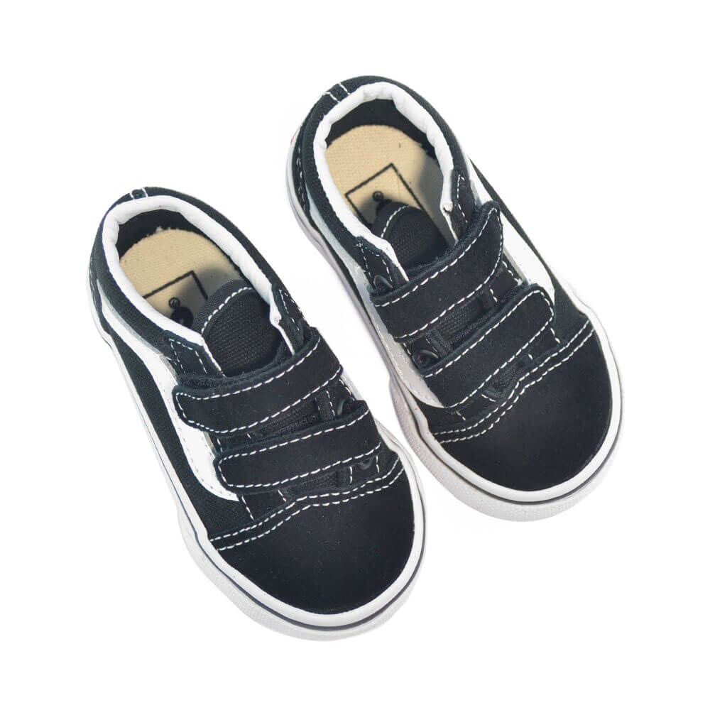 vans kids old skool v sneaker black top