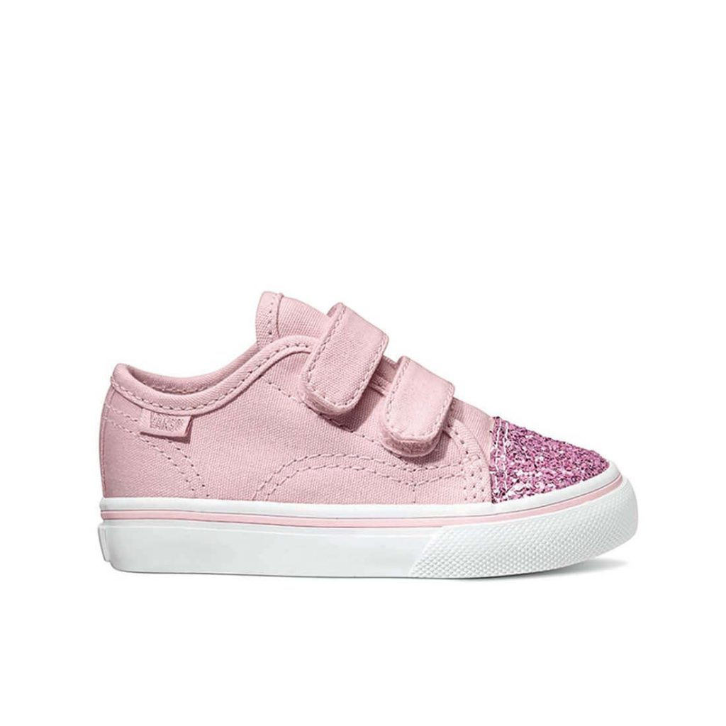 vans-kids-old-skool-v-sneaker-pink-glitter-toe-side