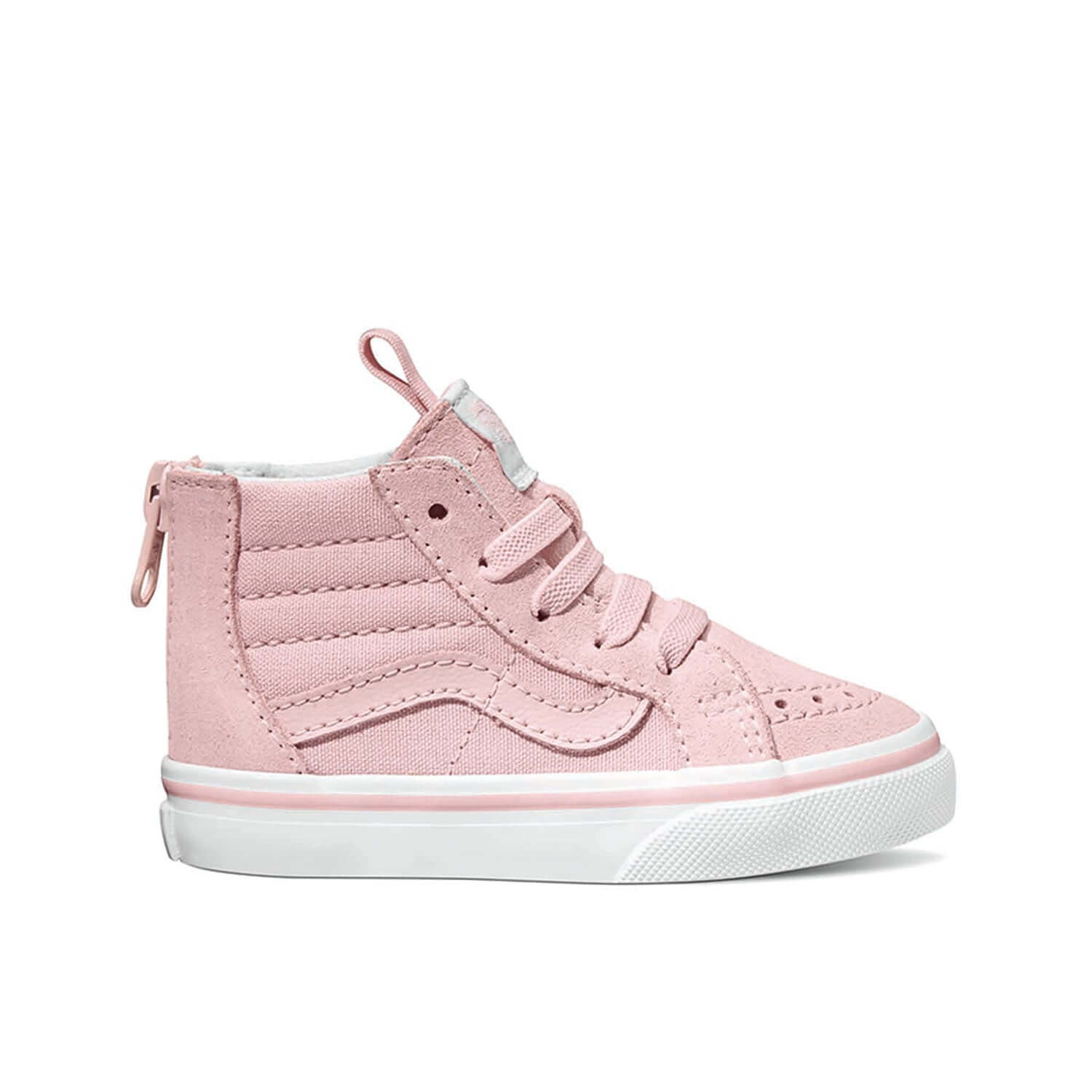 Vans Toddler SK8-Hi Zip Sneaker – Chalk Pink (9mths - 4yrs)  2f12fb6fe