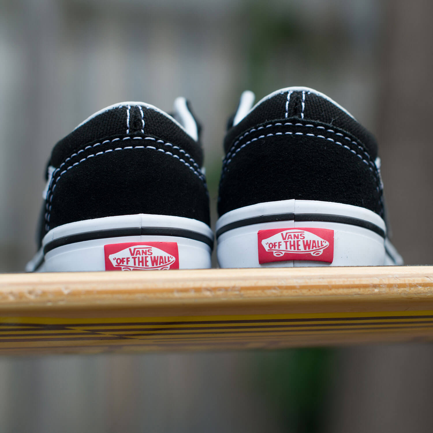Vans Toddler Old Skool V Sneaker - Black 7