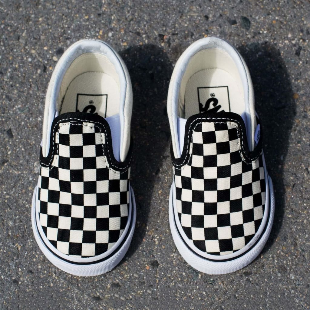 Vans Classic Slip On – Black/White Checkerboard