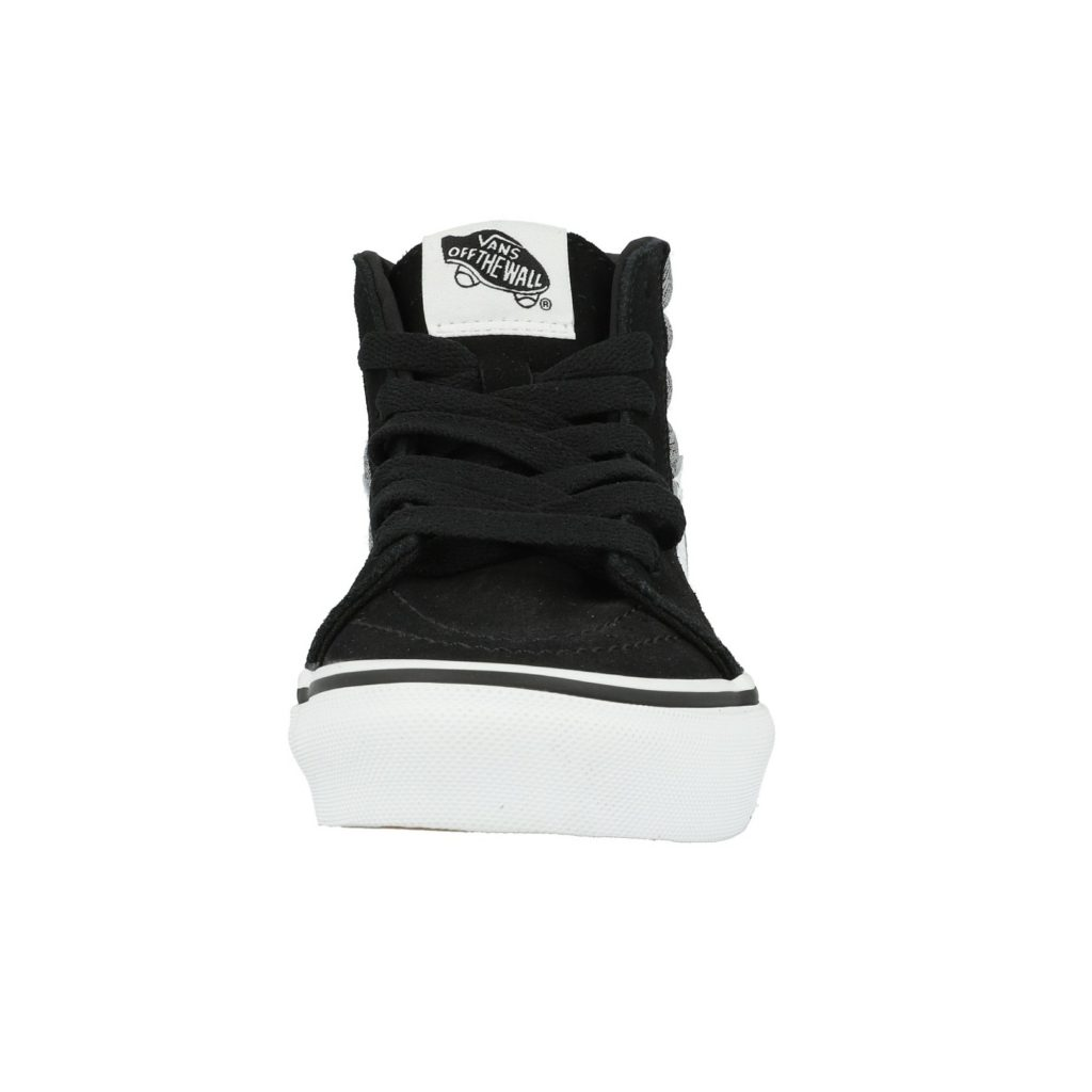 vans-uy-sk8-hi-suiting-black-suede front view