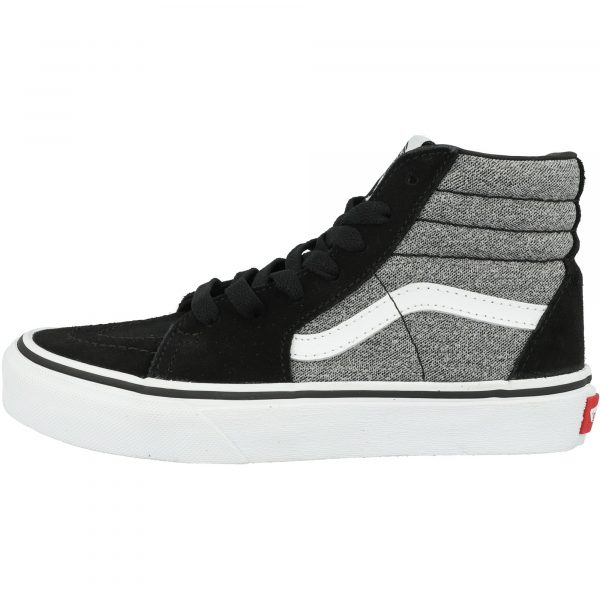 vans-uy-sk8-hi-suiting-black-suede side view
