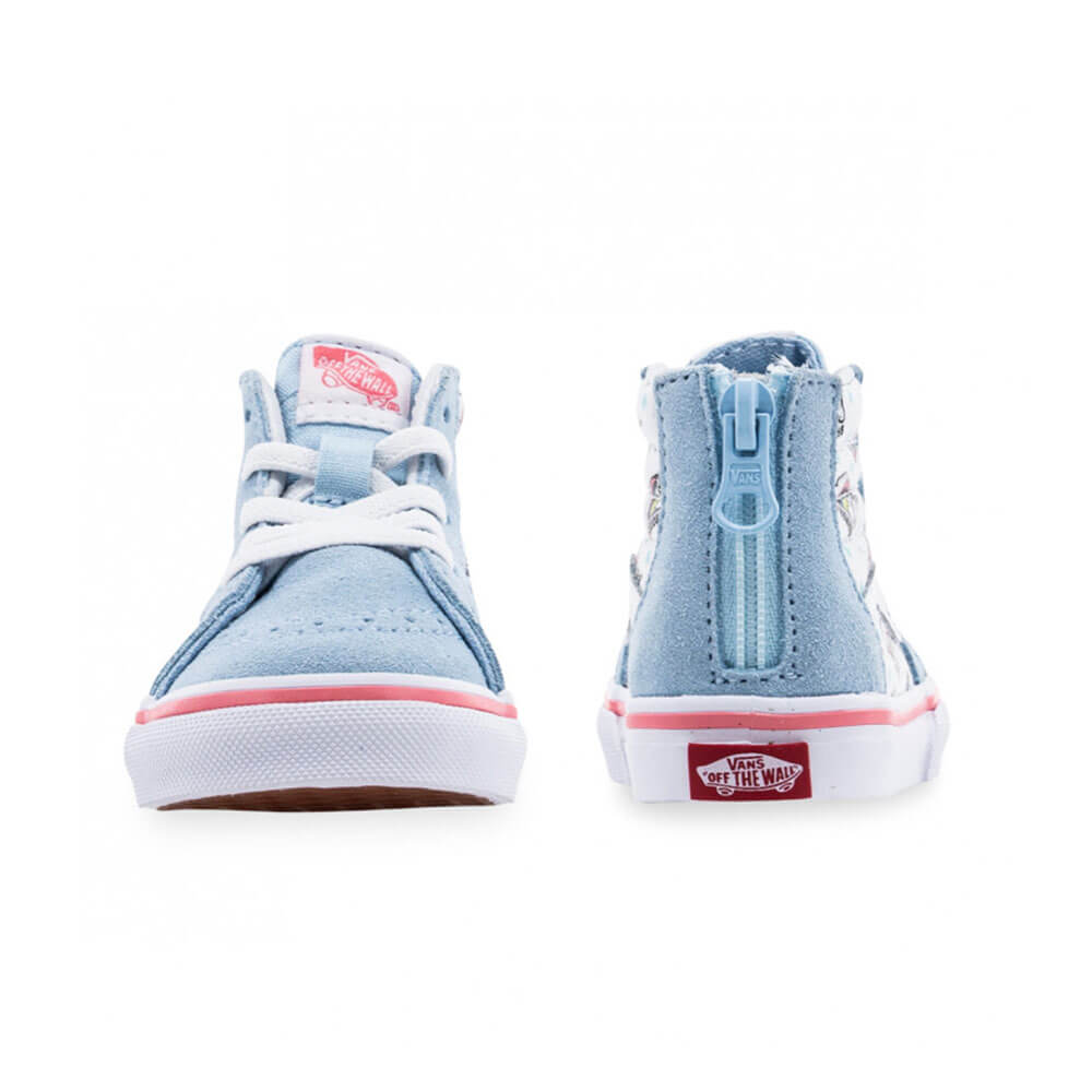 Vans Unicorn Blue True White Kids Back