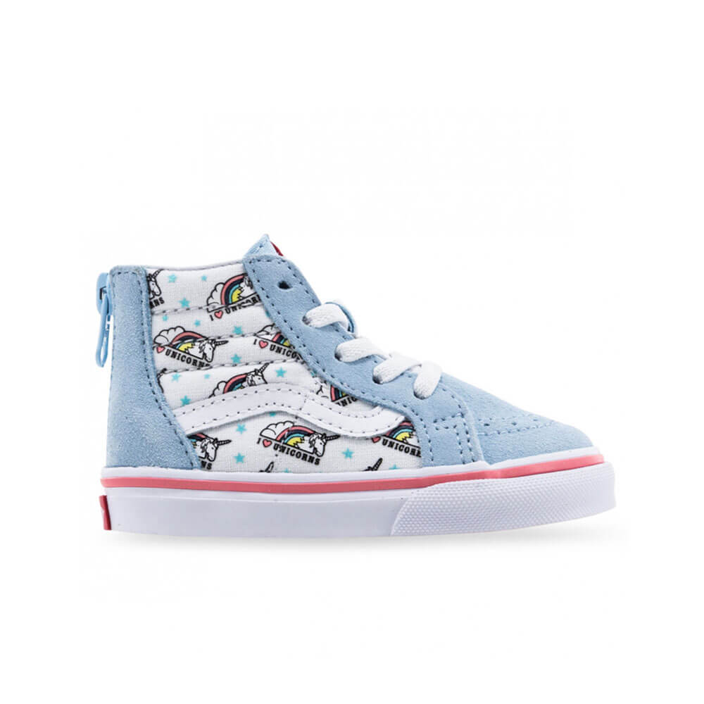 Vans Unicorn Blue True White Kids Side B