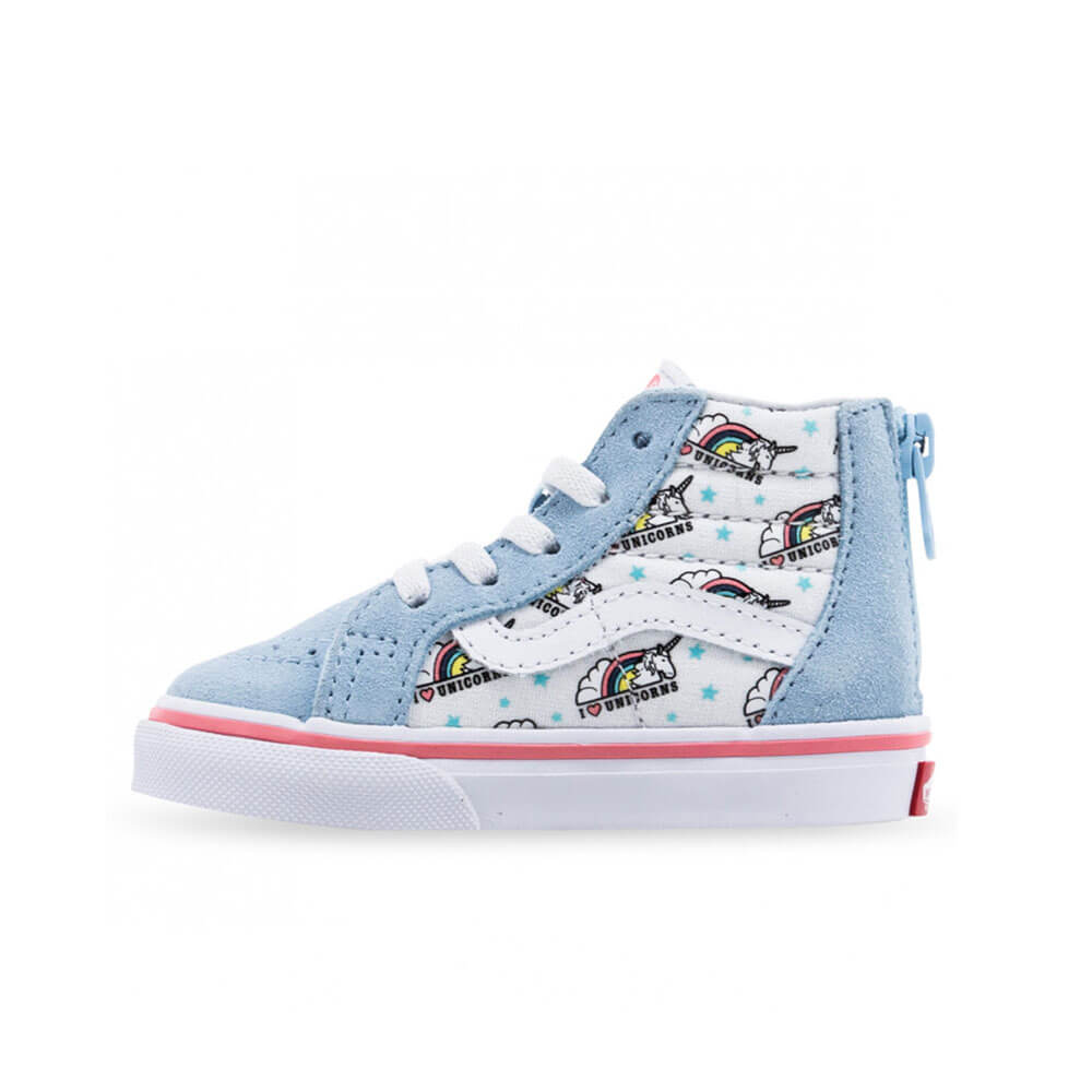 Vans Unicorn Blue True White Kids Side